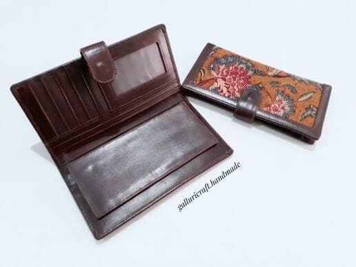 harga Dompet batik tulis kulit asli Tokopedia.com