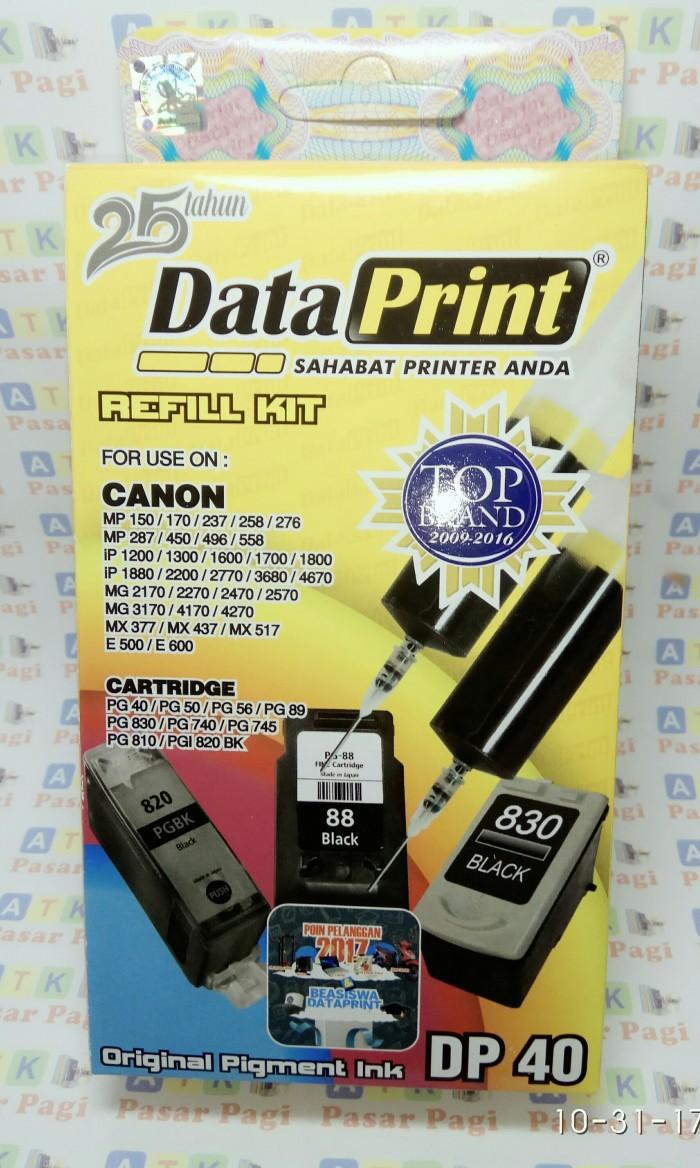 Foto Produk tinta suntik data print Dp 40 hitam utk semua printer canon dari ATK Pasar Pagi