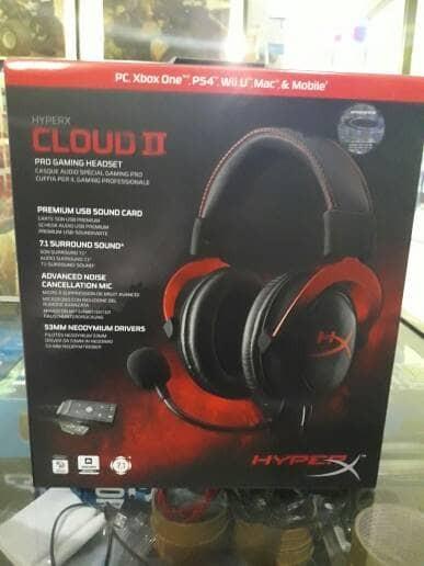 harga Kingston hyperx gaming headset cloud ii Tokopedia.com