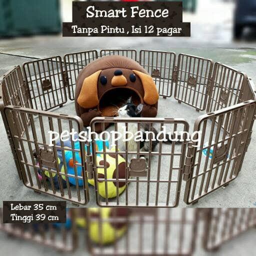 harga Smart fence kandang pagar tanpa pintu/ kandang anjing / kandang kucing Tokopedia.com