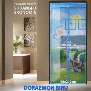 Hongxin Tirai Pintu Magnet Exclusive Kota Tua Krem Daftar Harga Source DORAEMON Tirai .
