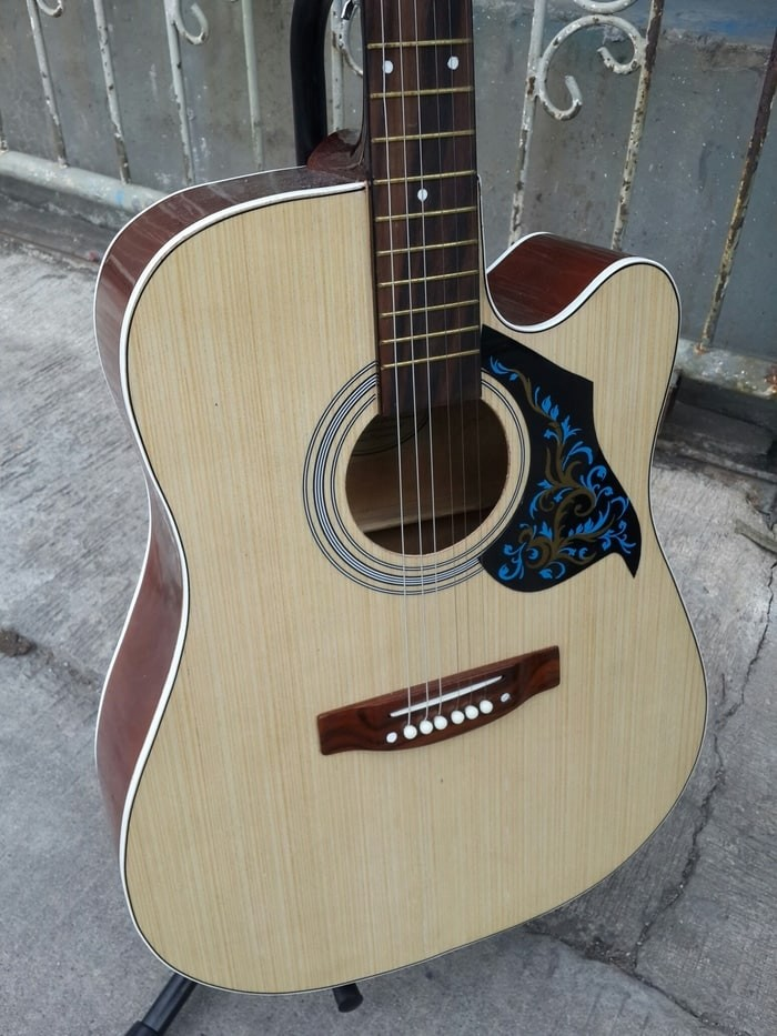 harga Gitar akustik f500 premium natural plus tass Tokopedia.com