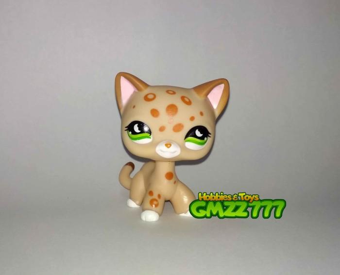 harga Littlest Pet Shop Lps Hasbro Short Hair Cat Leopard Dot #852 Tokopedia.com
