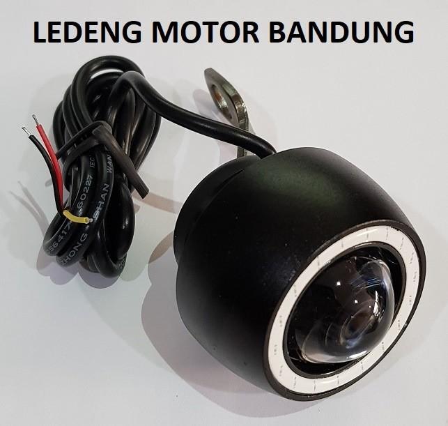 harga Sorot spion led with angel eyes ring lampu tembak motor fokus terang Tokopedia.com