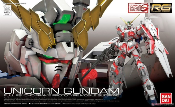 harga Rg unicorn gundam rx-0 Tokopedia.com