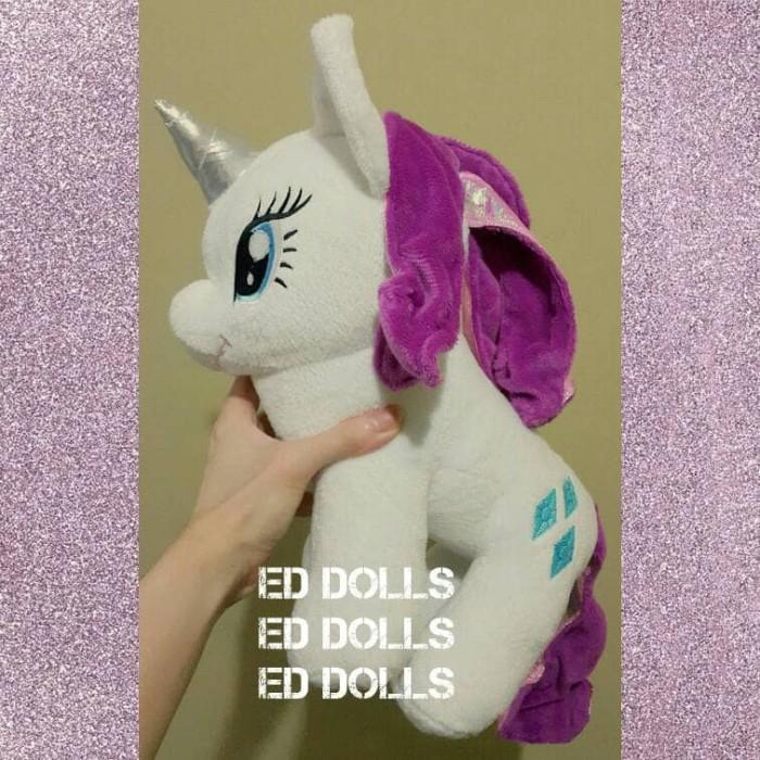Boneka kuda poni my little pony rarity 1e0b152267