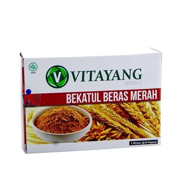 Foto Produk Obat penurun kolestrol-Obat herbal alami-bekatul beras merah dari Cathysan_Olshop