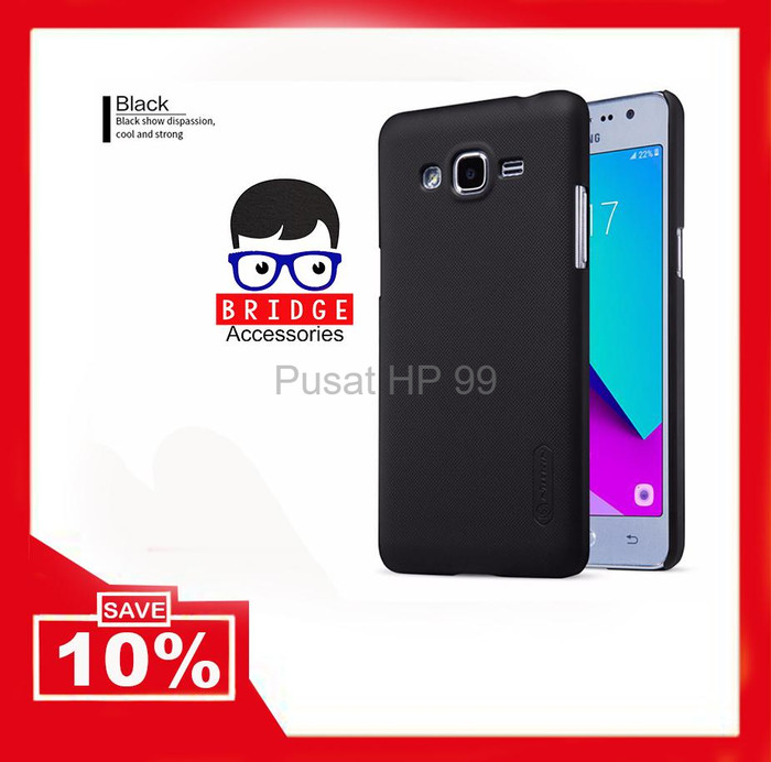 Nillkin Samsung J2 Prime Frosted Shield Black Source · BARU Murah Nillkin Frosted Shield Samsung Galaxy J2 Prime SM G532 Har