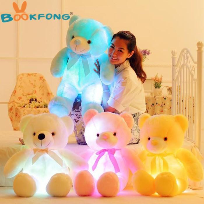Jual Boneka Teddy Bear Dengan Kreatif Lampu LED (DISKON 50%) - Junio ... 3475be5713