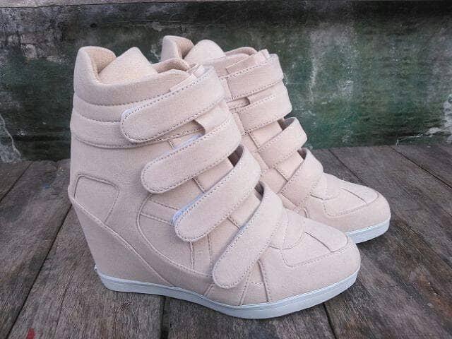 harga Sneaker wedges sepatu wanita nike adidas kickers heels boot platform Tokopedia.com
