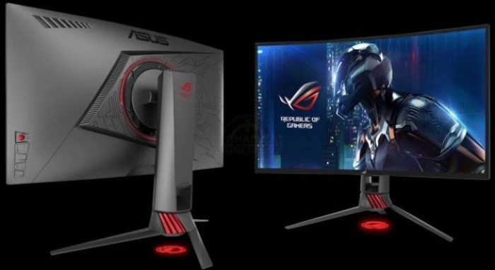 harga Monitor led asus rog strix xg27vq curved full hd gaming monitor 144hz Tokopedia.com