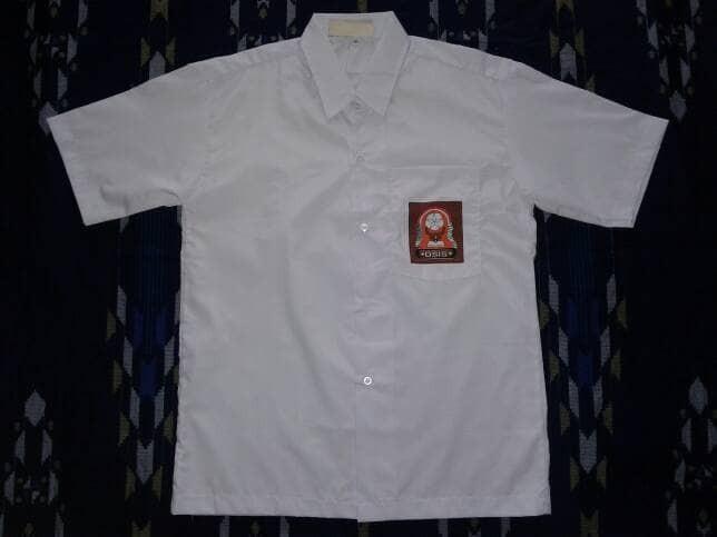 harga No.17 kemeja / baju seragam sekolah sma Tokopedia.com