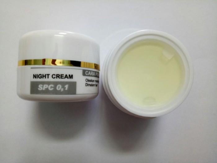Cream Malam SPC 0,1 TW (Tanpa Warna)