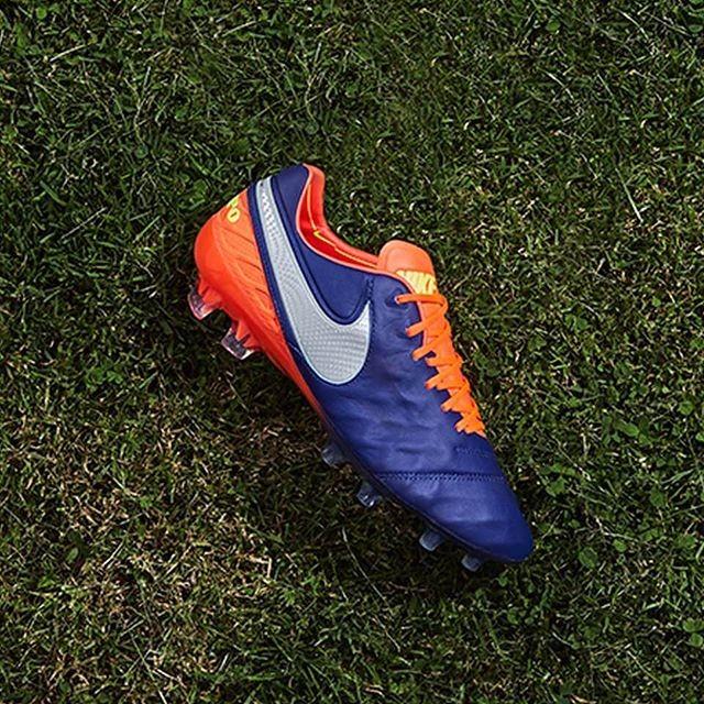 Blu (Deep Royal BlueChrome) Nike Tiempo Legend VI Fg