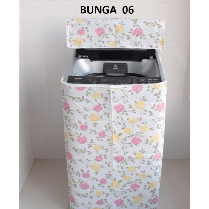 Best Sarung Mesin Cuci Cover 2 Tabung Circle Buka Atas Bahan Satin Source · Sarung Cover