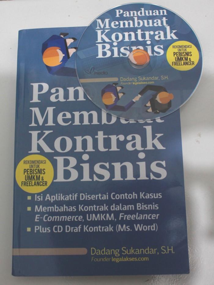 Foto Produk PANDUAN MEMBUAT KONTRAK BISNIS dari Legal Akses