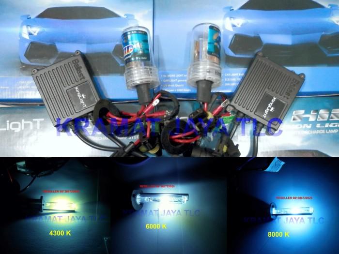 Lampu Headlamp Hid Motor Ninja 250 H7 Xenon Bergaransi 1 Tahun