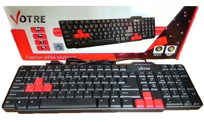 Jual Keyboard External Luar Pc Komputer Gaming Laptop Merek Votre Jakarta Timur Pusat Komputer Tokopedia