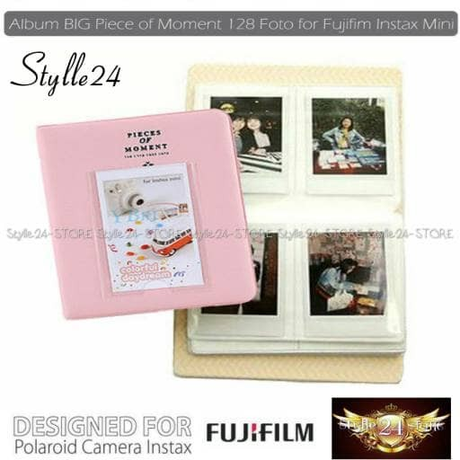 harga Album big piece of moment 128 foto fujifilm instax mini 8/9/90/sp-2 Tokopedia.com