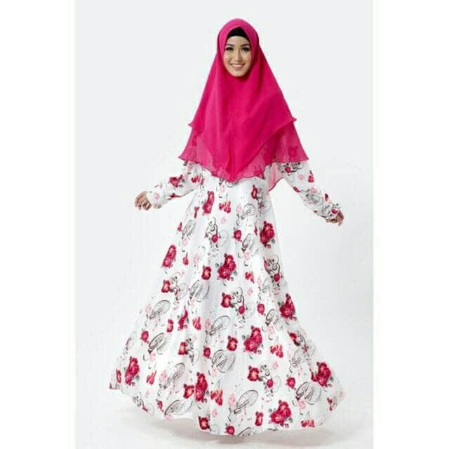 Gamis Syari/Baju Gamis Set/Assafa Syari Fanta Set with Khimar
