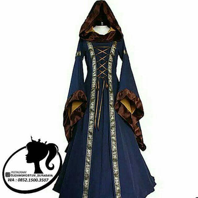 Jual Sewa Kostum Eropa Medieval Princess Import Kota Surabaya Mercy Land Tokopedia