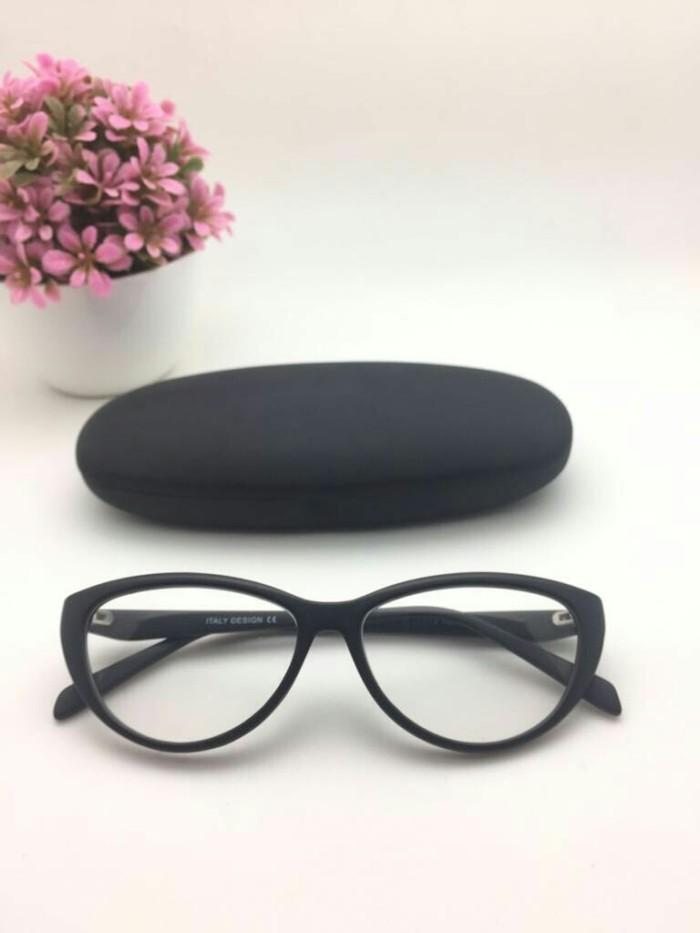 Jual Frame kacamata cat eye wanita B024 kacamata model mata kucing ... b23d9288c3