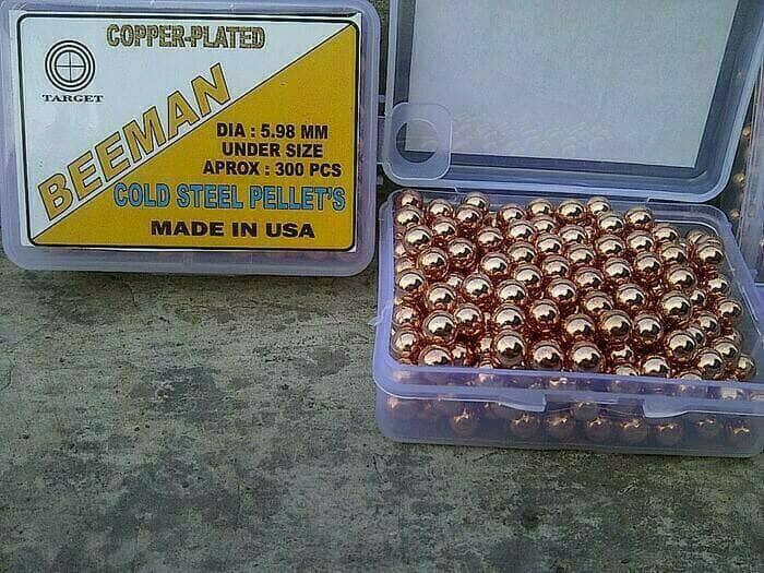 harga Kacang bb metal gotri 6mm beeman original isi 300pc Tokopedia.com