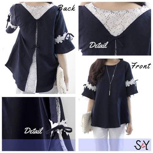 harga Super big agnes blouse wanita jumbo Tokopedia.com