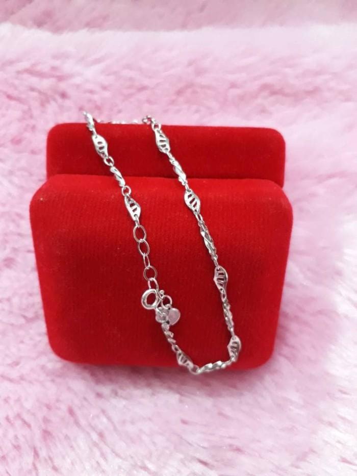harga Gelang tangan variasi perak 925 / perhiasan silver lapis emas putih7 Tokopedia.com