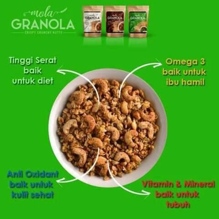 Mola Granola Snack Diet Rasa Coklat