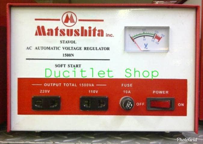 harga Stabilizer/stavol voltase listrik rumah/alat stabiliser matsushita Tokopedia.com