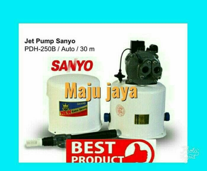 """Jual pompa air sumur dalam 30 meter jet pump """" SANYO """" PD ..."""