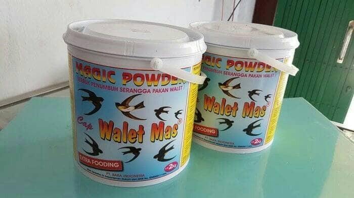 harga Pakan/makanan burung walet magic powder Tokopedia.com