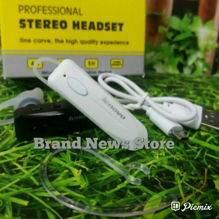 harga Headset bluetooth lenovo p17 / earphone bluetooth /stereo/earphone Tokopedia.com