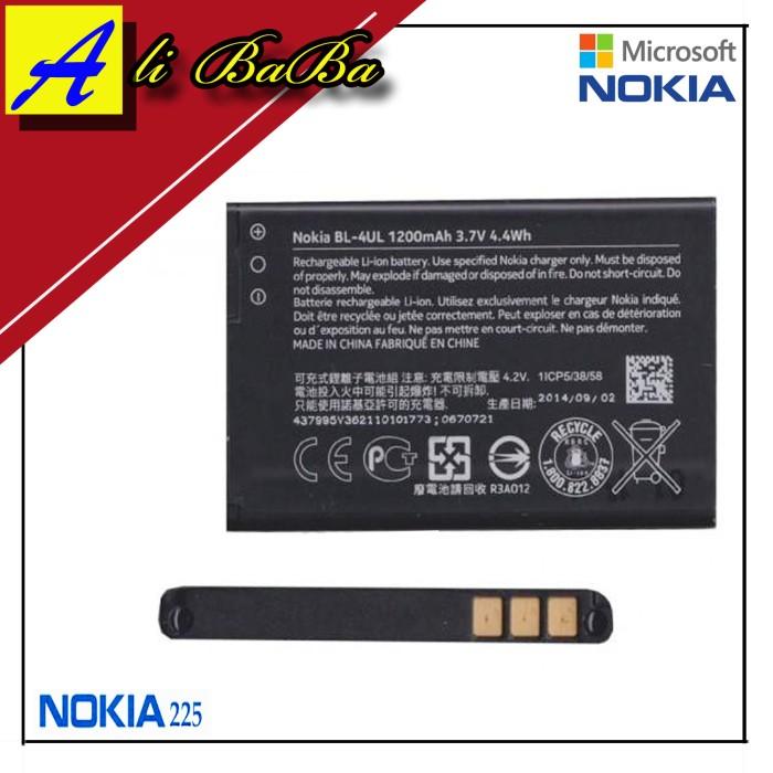 harga Baterai handphone nokia asha 225 bl-4ul batre hp batre nokia asha Tokopedia.com