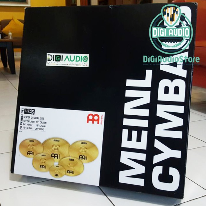 harga Paket Meinl Cymbal Hcs-scs Set Hcs 14 Hihat 16 18 Crash 10 S 20 Ride Tokopedia.com