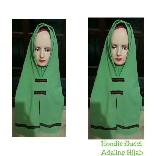 80f464b69ad Jual Jilbab Hoodie Gucci Hijab instan Hijab Premium - Kab. Bekasi ...