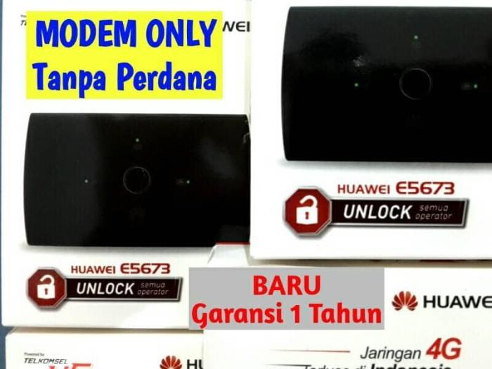 harga Modem mifi huawei e5673 4g lte - unlock, all operator (gsm - cdma) Tokopedia.com