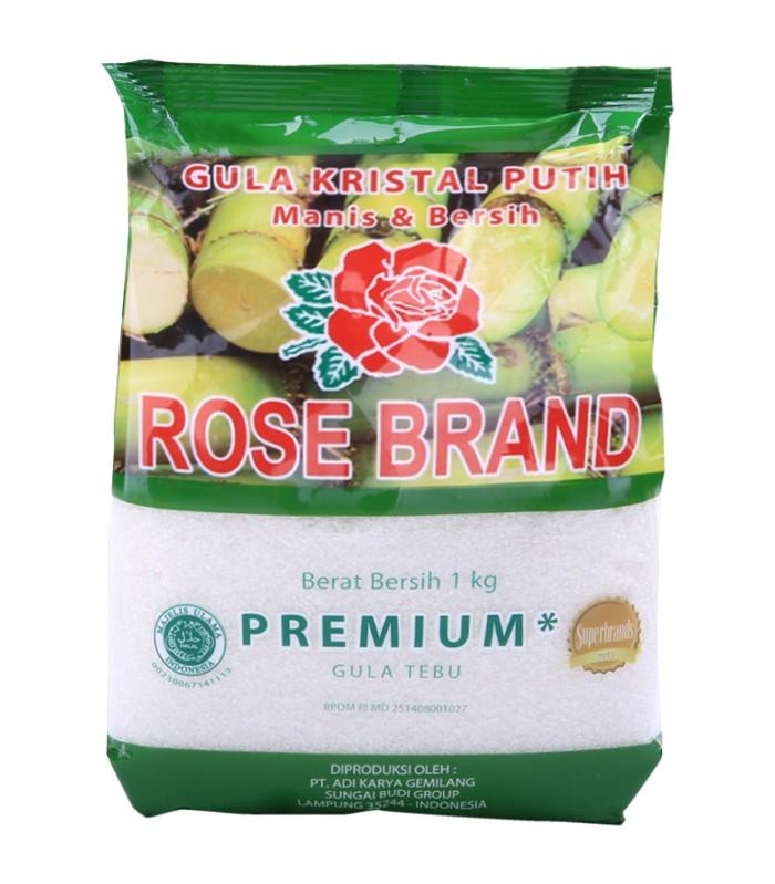 Jual Gula Kristal Rose Brand 1kg Harga Promo Terbaru