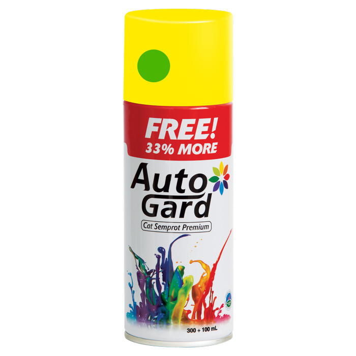 harga Autogard lime green solid (**) ka83 - cat semprot premium motor rumah Tokopedia.com