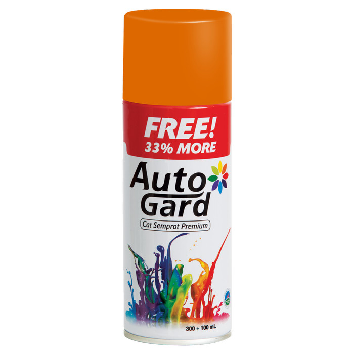 harga Autogard orange oranye 44 - cat semprot premium motor rumah Tokopedia.com