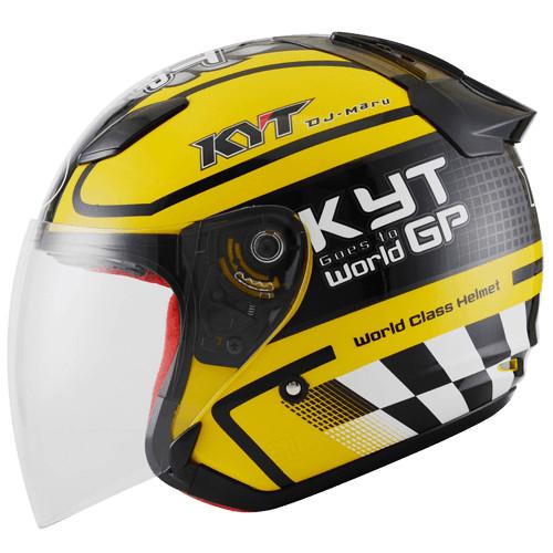 (JUAL)Helm KYT DJ Maru Motif motor gp 3