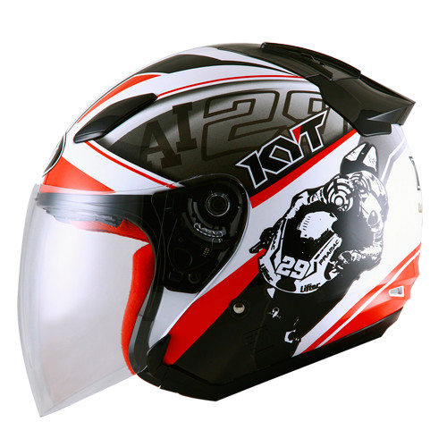 (JUAL)Helm KYT DJ Maru Motif motor gp 1