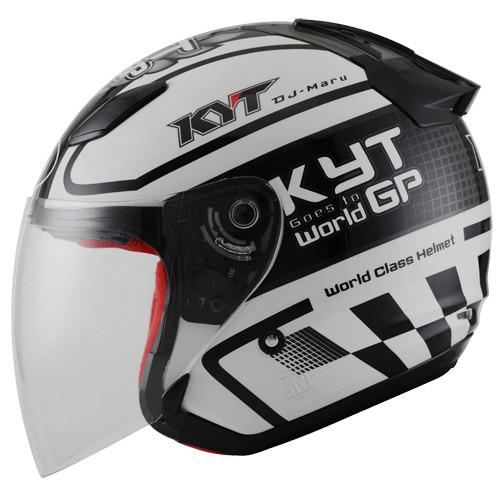 (JUAL)Helm KYT DJ Maru Motif motor gp 4