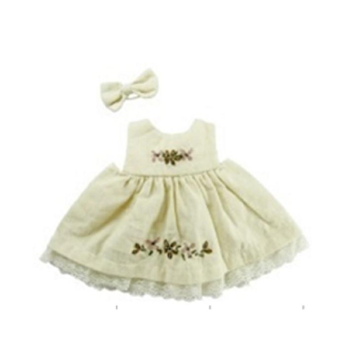 """Jual Dress 10"""" Cream Harga Promo Terbaru"""