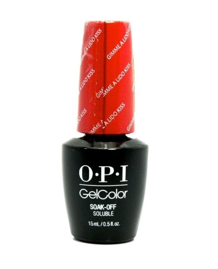 harga O.p.i gel nail polish gimme a lido kiss  - opi gc v30 (original) Tokopedia.com