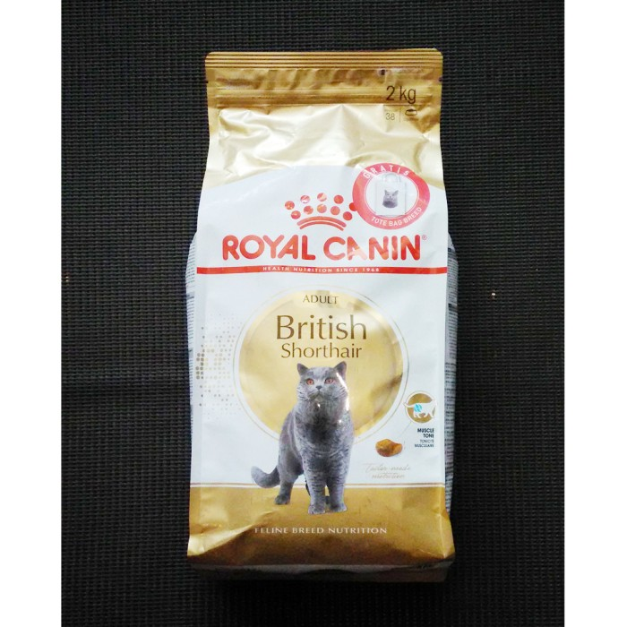 harga Royal canin british shorthair cat adult 2kg / makanan kucing british Tokopedia.com