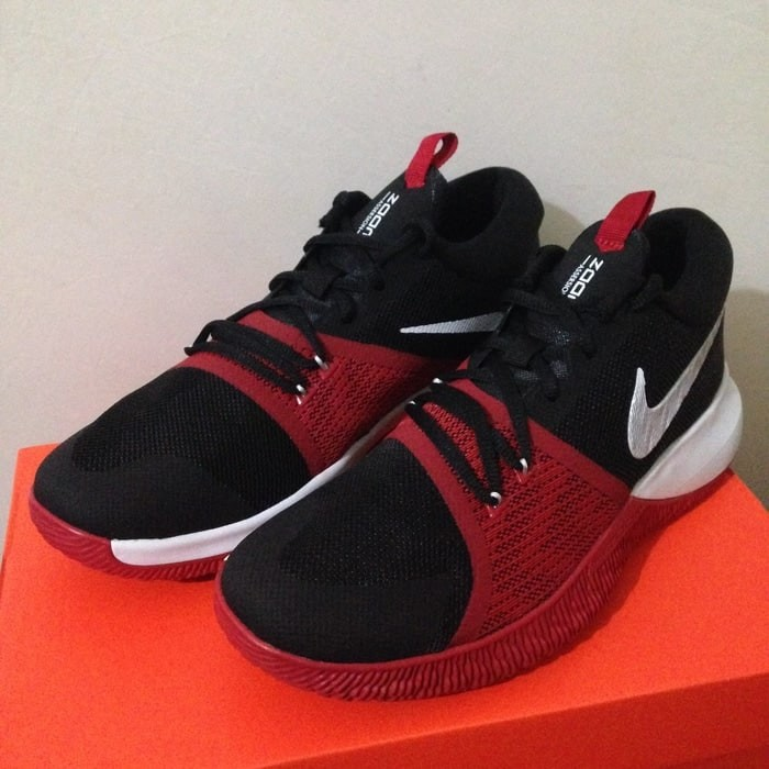 Jual Sepatu Basket Nike Zoom Assersion Black Gym Red 917505-006 ... 2ebab7a1f9