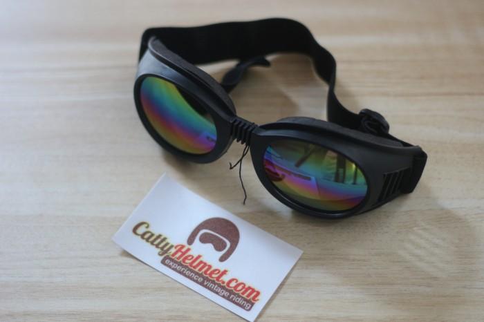 harga Kacamata goggle rainbow gaya klasik untuk moto 3 cakil gringo bullitt Tokopedia.com