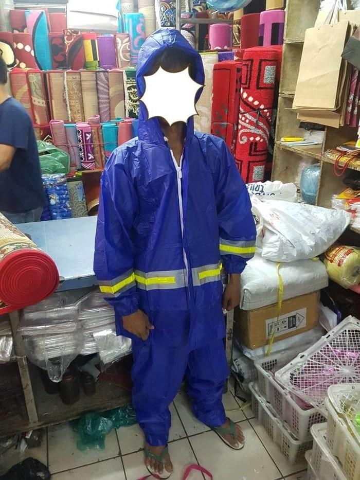 harga Jas hujan jaket celana reflekta elephant brand dewasa ( biru saja ) Tokopedia.com
